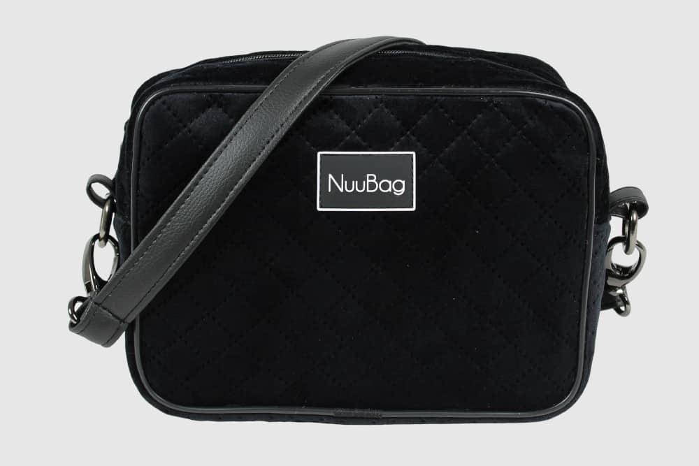Czarna mała torebka handmade. Wykonana ręcznie w Polsce