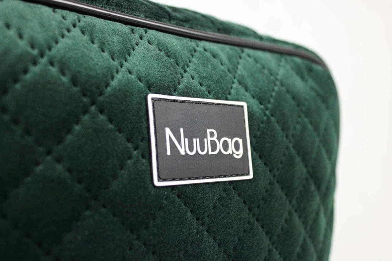 Torebka damska handmade w kolorze butelkowej zieleni. Praktyczna i bardzo elegancka