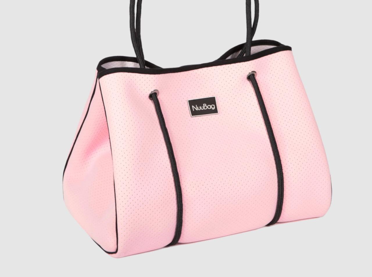 Duża torebka damska różowa